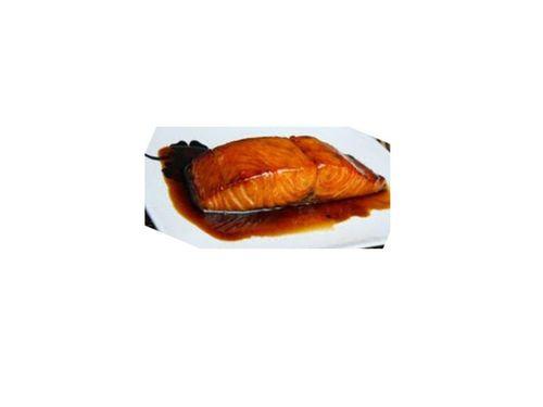 Linda Van Valkenburgh's Curried Maple Salmon